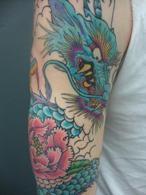 Dragon Tattoo Forearm