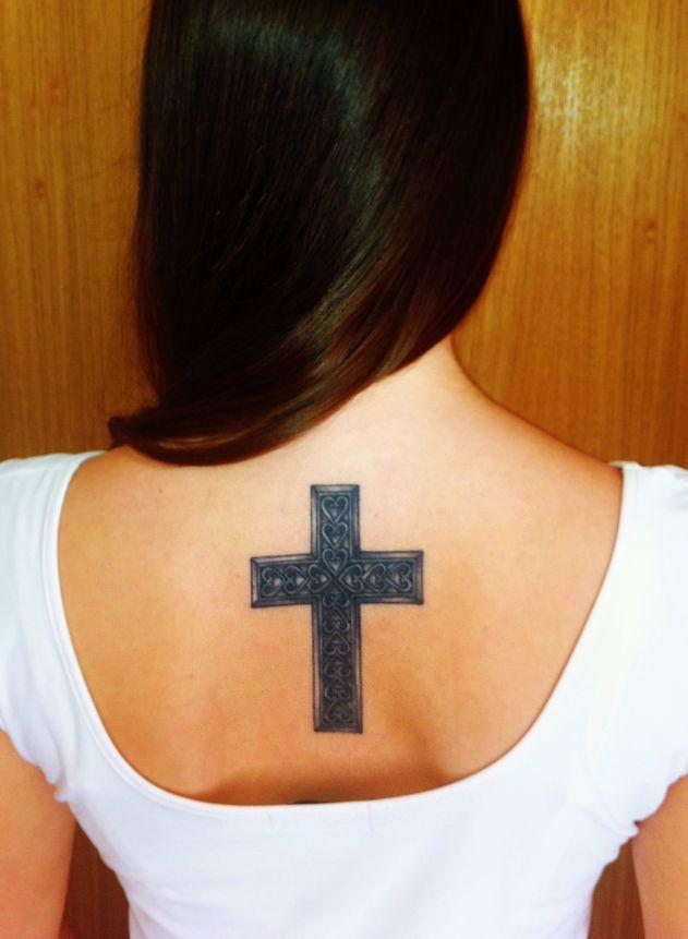 tattoo_cross_back_heart_women