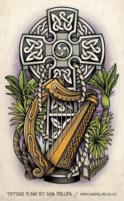 irish celtic tattoo archives seite 2 von 2 tattoou. Black Bedroom Furniture Sets. Home Design Ideas