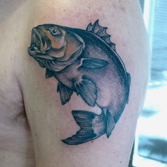 Simple Fish Tattoos Archives Tattoou
