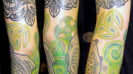 Celtic tattoo sleeve designs