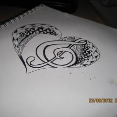 polynesian tribal heart tattoo designs